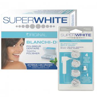 PACK PULIDOR DENTAL Y 4 RECARGAS – Dientes Más Blancos Super White Original