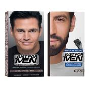 Just For Men - DUO COLORATION CHEVEUX & BARBE Noir Naturel - Tinte just for men
