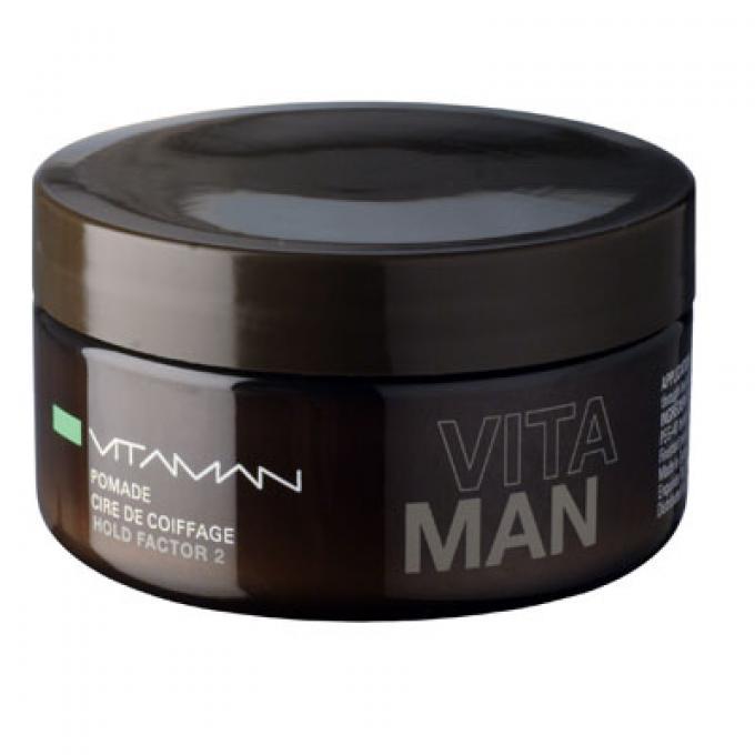 Cera De Peinado Para Hombre Aspecto Brillo Vitaman Gel Y Cera