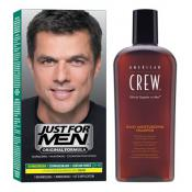 Just for Men Homme - PACK COLORACIÓN PARA CABELLOS Y CHAMPÚ -