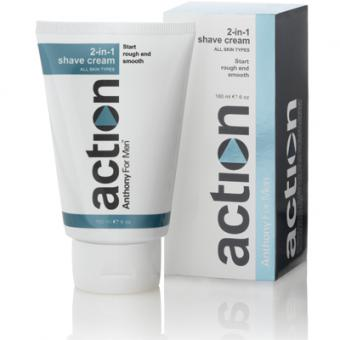 CREMA DE AFEITAR Y AFTER SHAVE Anthony Action
