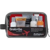 Anthony Logistics Homme - SET DE VIAJE - Cuidados faciales y afeitado, ¡Idea regalo! -