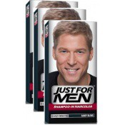 Just for Men Homme - PACK 3 TINTES CABELLO -