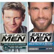 Just for Men Homme - DUO COLORACIÓN CABELLO Y BARBA - Castaño claro -