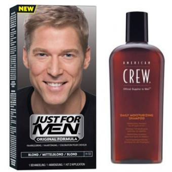 PACK TINTE CABELLO Y CHAMPÚ Just For Men