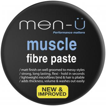 MUSCLE FIBRE PASTE CREMA DE PEINADO Men-ü